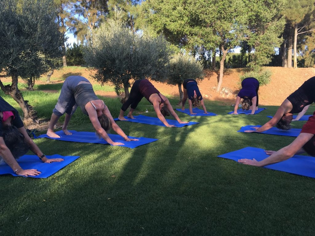 outdoor yoga tarifa spain