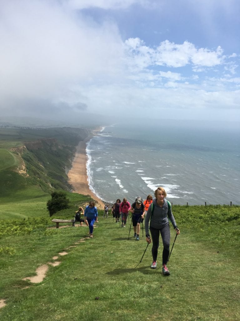 walking golden cap dorset