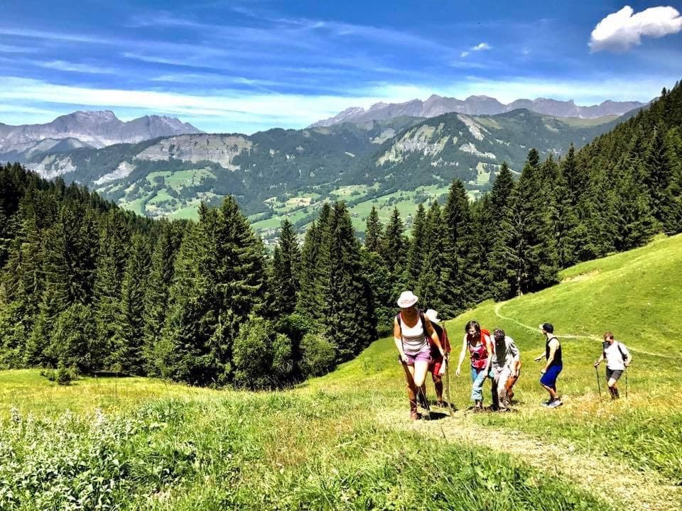 off grid yoga and hiking retreat french alps