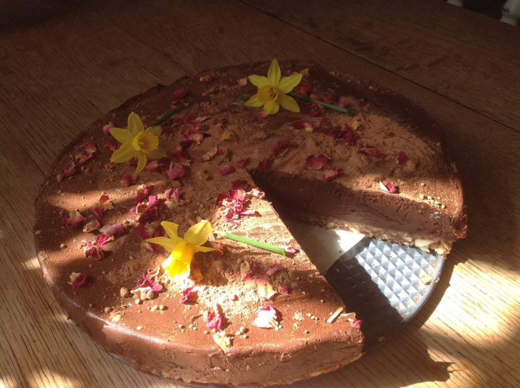soraya's raw chocolate cake