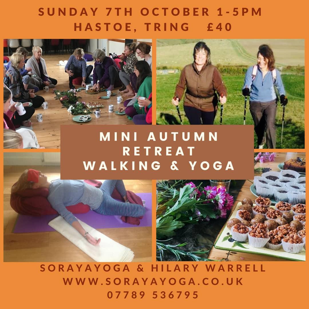 Autumn mini yoga retreat