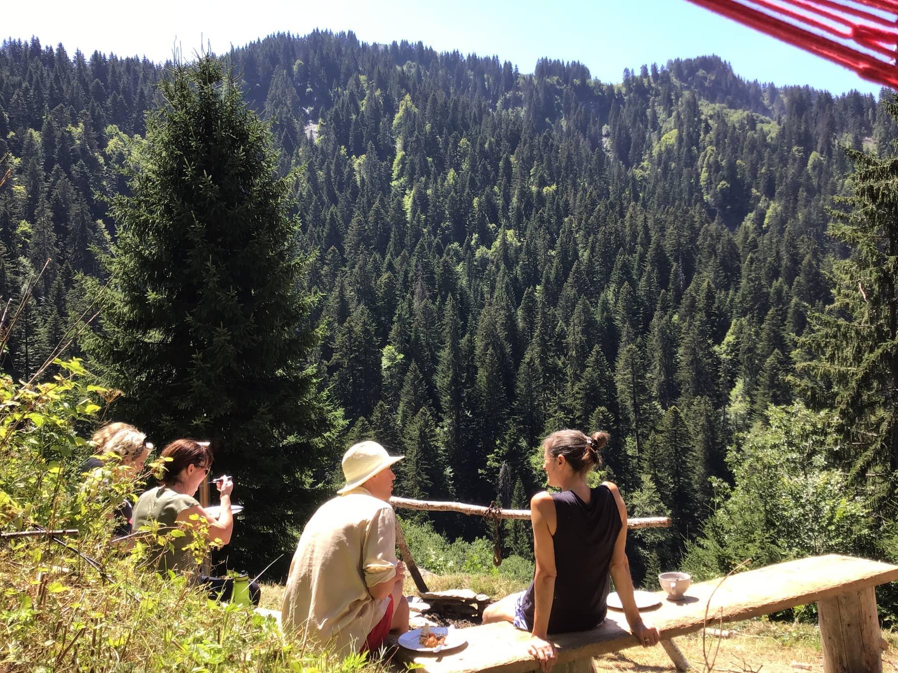 community yoga retreat