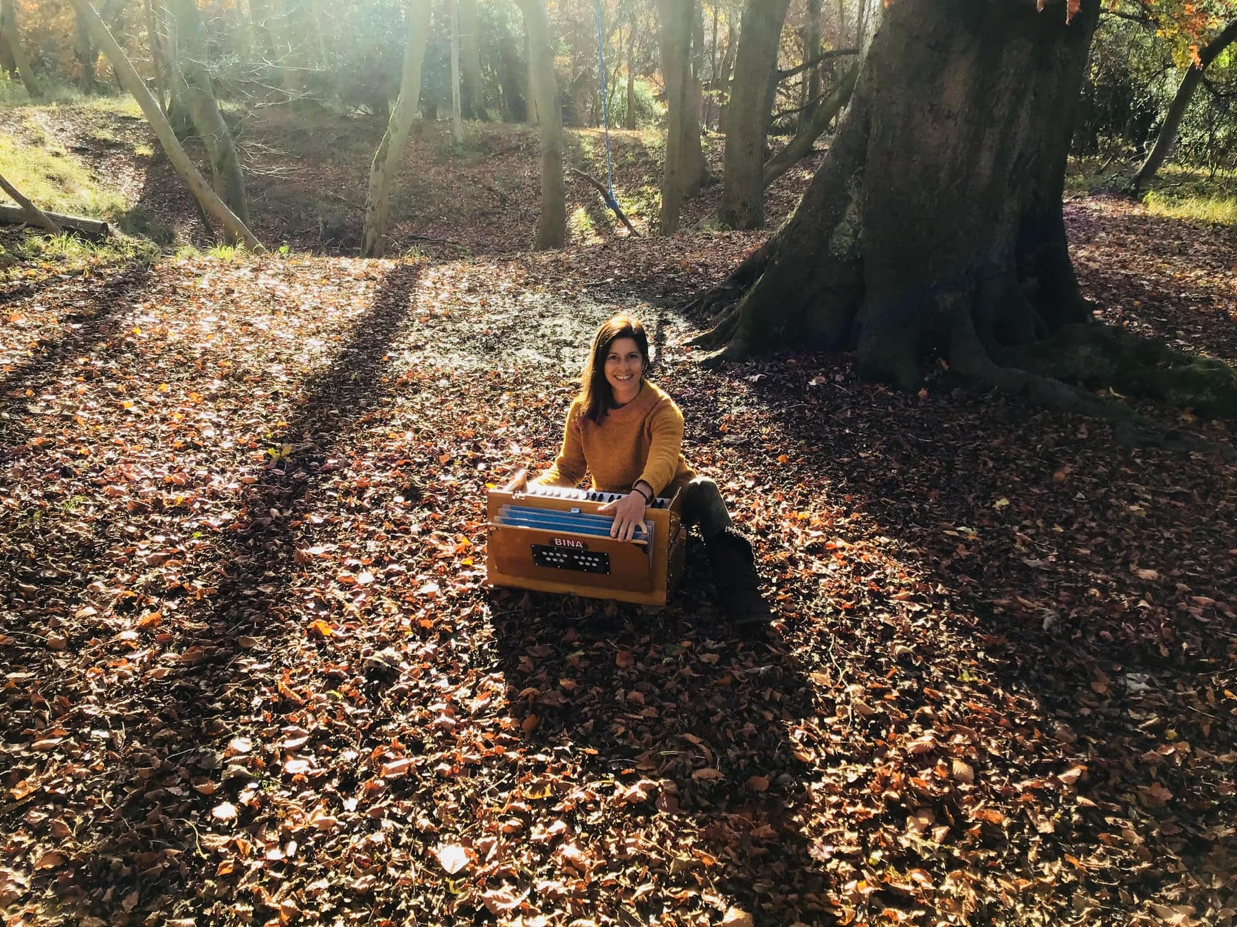 kirtan in the forest